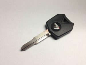 Kawasaki Motorcycle Empty Transponder Key Case
